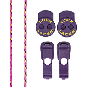 Lock Laces Trail Lock Laces, floro fuchsia